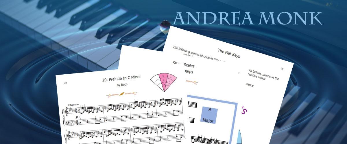 Andrea Monk Sheet Music