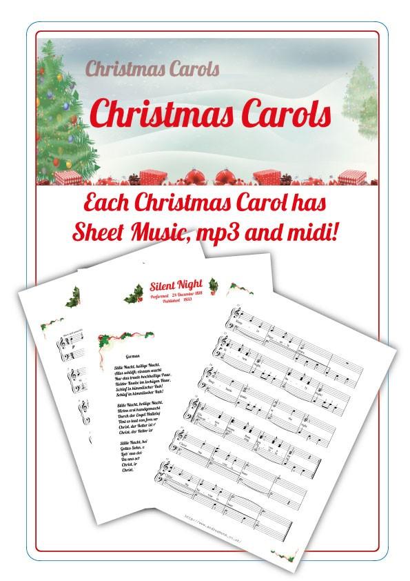 Christmas Carols information