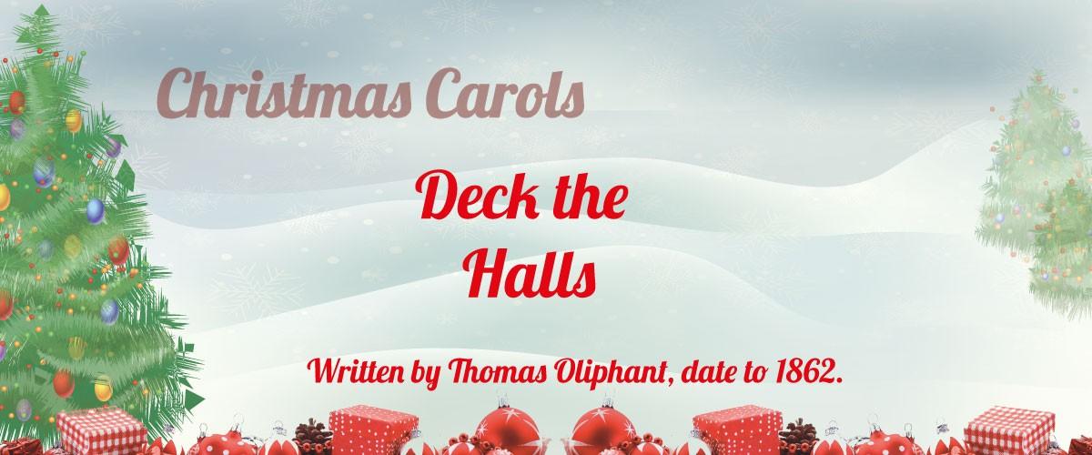 Deck the Halls sheet music