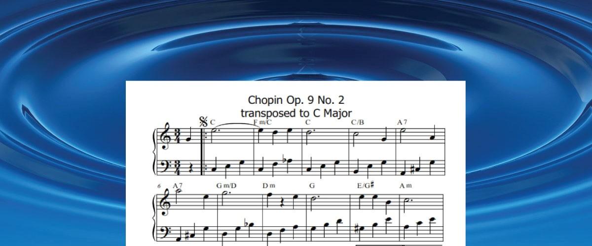 Free Arrangement sheet music