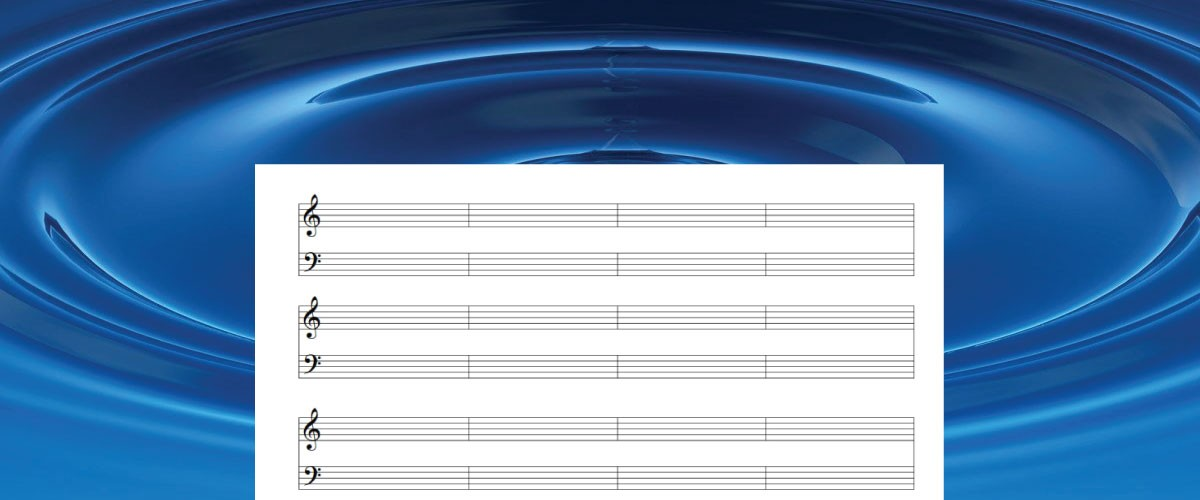 Free Piano Manuscript Paper