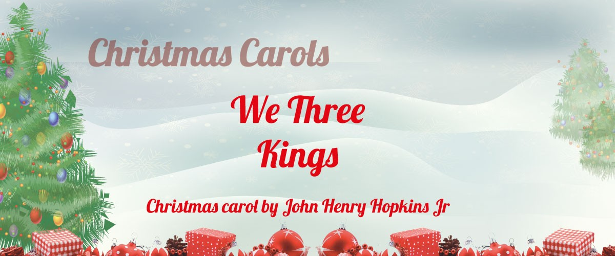 We Three Kings sheet music