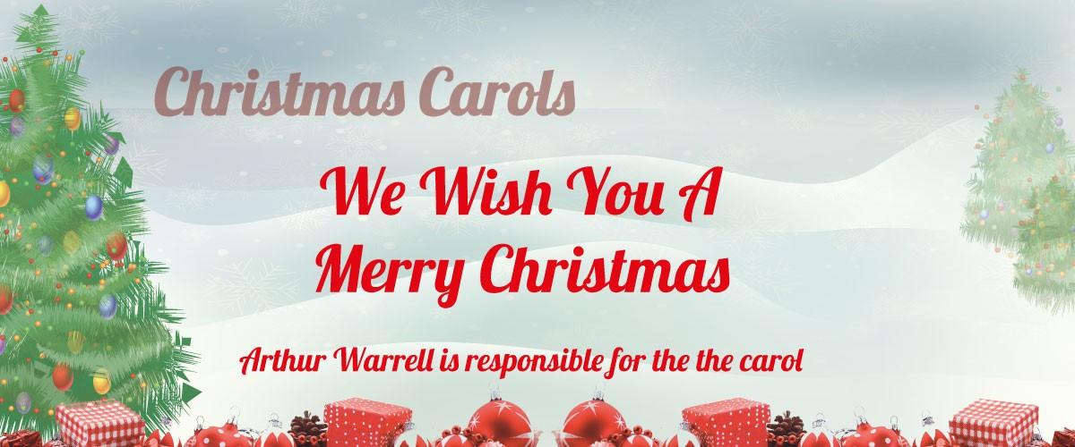 We Wish You A Merry Christmas sheet music
